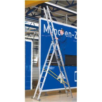 LM-Mehrzweckleiter, 3-tlg Leiterlänge ausge