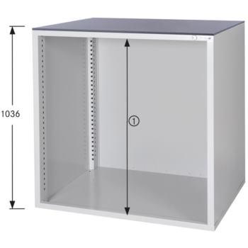 HK Schrankgehäuse System 800 B, HxBxT 1036x1022x80