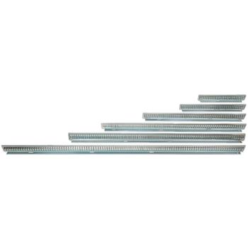 Fachschienen aus Stahlblech Nennlänge 600 mm Hö