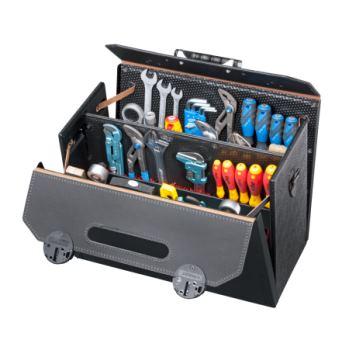 Werkzeugtasche Rindleder 460 x 210 x 340 mm
