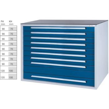 Werkzeugschrank System BX8, HxBxT 1036x1420x800