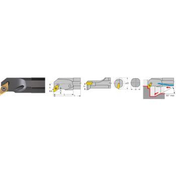Bohrstange positiv mit Innenkühlung A0810H SDUC R 07 Stahl