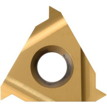 Teilprofil-Wendeschneidplatte Außengew.links 22EL N60 HC6625 Stg.3,5-5,0