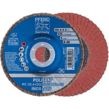 POLIFAN®-Fächerscheibe PFC 125 A 40 SG-COOL/22,23