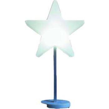 8SEASONS 62495L LED Shining Star auf Stab Ø 30cm