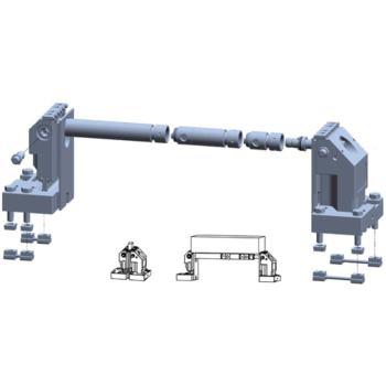 5-Achs-Spanner Komplettset 100-175 für T-Nut 14