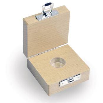Holzetui f. einzelne Milligrammgewichte / E2/F1/F2