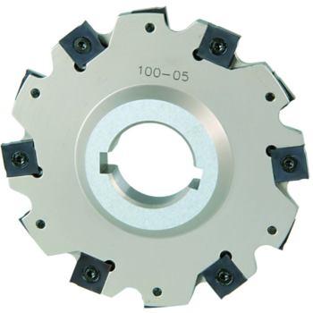 Wendeschneidplatten-Scheibenfräser 125mm o.Bund fü r WSP SNHX1205T,ap 12 mm