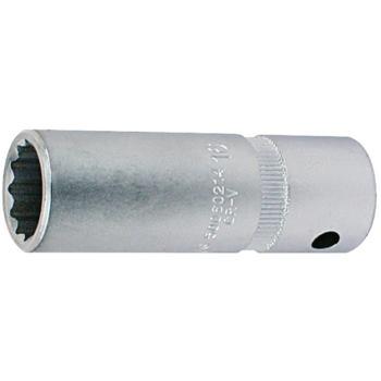Steckschlüsseleinsatz 18 mm 1/2 Inch lange Ausführ ung Doppelsechskant