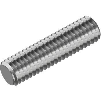 Gewindebolzen / Gewindestangen DIN 976-B A2 Form B M 6x 90