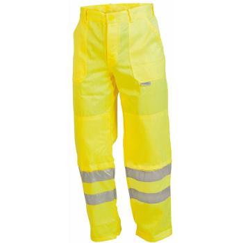 Warnschutz-Bundhose Klasse 3 gelb (RAL 1026) Gr. 50