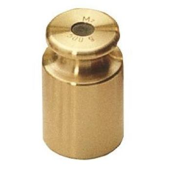 M2 Gewicht 5 kg / Messing feingedreht 357-53