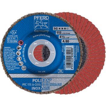 POLIFAN®-Fächerscheibe PFC 115 A 80 SG-COOL/22,23