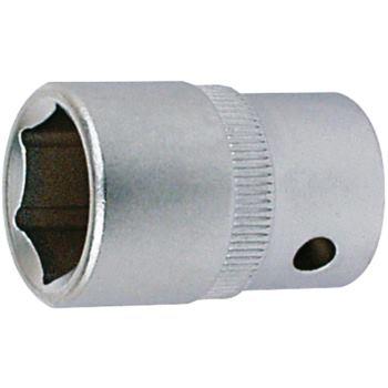 Steckschlüsseleinsatz 21 mm 3/8 Inch DIN 3124 Sech skant