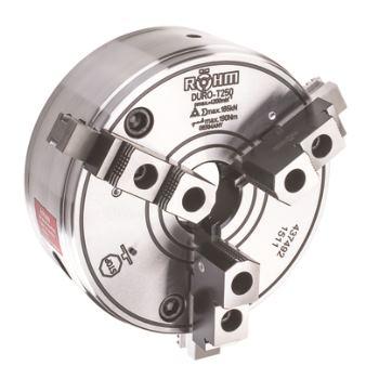 DURO-T 500, 3-Backen, Zylindrische Zentrieraufnahme, Grund- und Aufsatzbacken