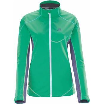 Damen Jacke Mont Baron lila / green Gr. XL
