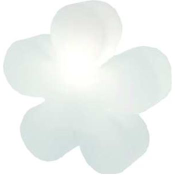 8SEASONS 32268L LED Shining Flower Ø 60cm weiß
