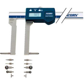 Univ.-Messschieber Set 300 mm elektronisch KEEPTRO NIC Dat.-Ausg. multiCOM