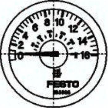 MA-23-16-R1/8 183898 Manometer