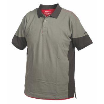Poloshirt Stretchfit grau Gr. M