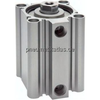 Kompaktzylinder, doppeltwir- kend, Kolben Ø 32 mm,Hub 100mm
