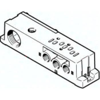 VABS-S4-2S-G18-B-K2 541067 Anschlussplatte