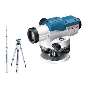 Optisches Nivelliergerät GOL 32 D, Baustativ BT 16