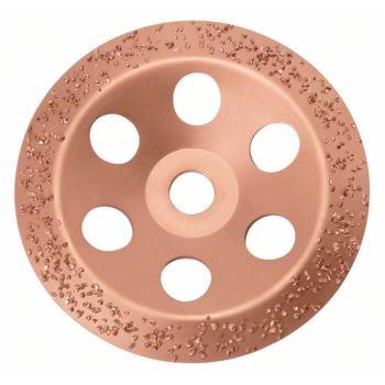 Hartmetalltopfscheibe, 180 x 22,23 mm, grob, flach