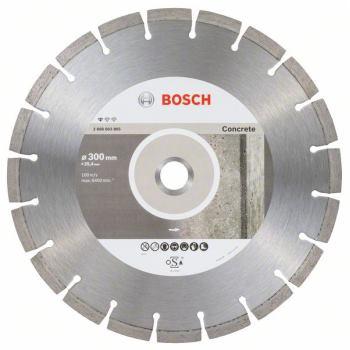 Diamanttrennscheibe Standard for Concrete, 300 x 25,40 x 2,8 x 10 mm