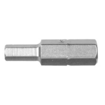 Innensechskant-Bits - 25 mm / Größe 4 DT7165