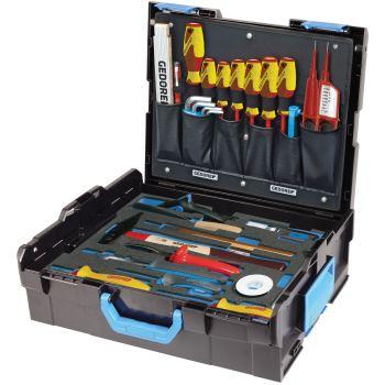 GEDORE-Sortimo L-BOXX 136 mit Sortiment Elektriker , 36-tlg