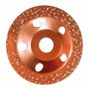 Hartmetalltopfscheibe, 115 x 22,23 mm, mittel, fla