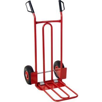 Transport-Stapelkarre mit Luftbereifung, 250kg