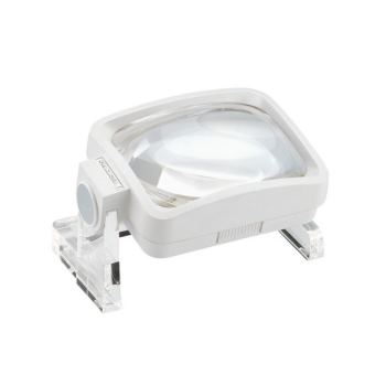 Standlupe viso-lux mit abnehmbarer Zusatzlinse