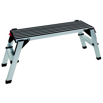 Aluminium-Sicherheits-Laufbühne, L1000xB405xH480mm