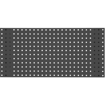 Lochplatte-schiefergrau, 2000x450mm