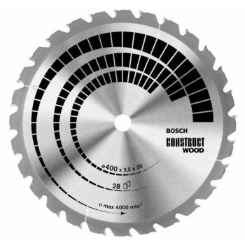 Kreissägeblatt Construct Wood, 400 x 30 x 3,5 mm,