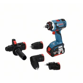 Akku-Bohrschrauber GSR 18 V-EC FC2, Bohrfutter-, Bohrhammer-, Exzenter-, Winkel