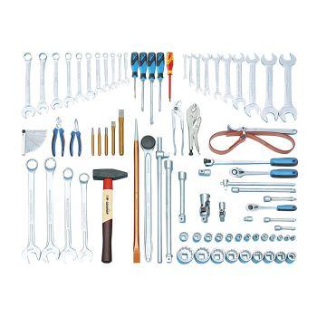 Werkzeugsortiment Baumaschinen 81-tlg ZOLL