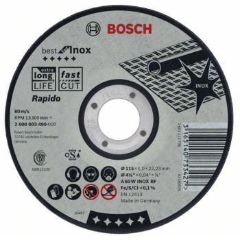 Trennscheibe gekröpft Best for Inox - Rapido A 60