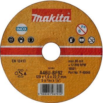 TRENNSCHEIBE 125x1,0mm INOX