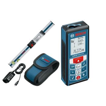 Laser-Entfernungsmesser GLM 80 mit Messschiene R60