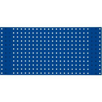 Lochplatte-enzianblau, 2000x450mm