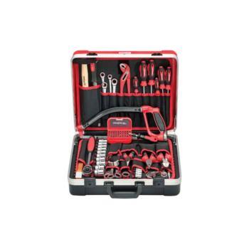 Werkzeugkoffer + Universalsatz SCHRAUBER, 57-tlg