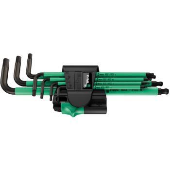 950 SPKL/7B SM Magnet Winkelschlüsselsatz, metrisc h, BlackLaser