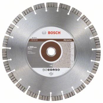 Diamanttrennscheibe Best for Abrasive, 350 x 25,40x 3,2 x 15 mm