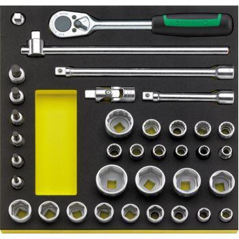 """96830354 - 1/2"""" Werkzeuge in TCS Einlage"""