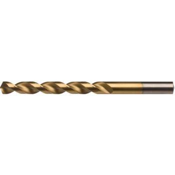 Spiralbohrer Typ TLP HSS-TiN DIN 338 5xD 9,9 mm mit Zylinderschaft HA