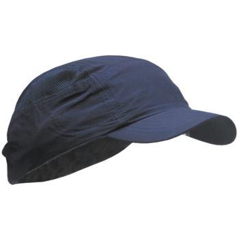 Mütze mit Hartschalen-Einlage jeansblau nach DIN E
