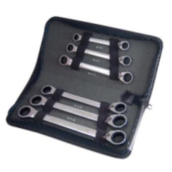 GEARplus® Doppel-Ratschenringschlüssel-Satz 503.45